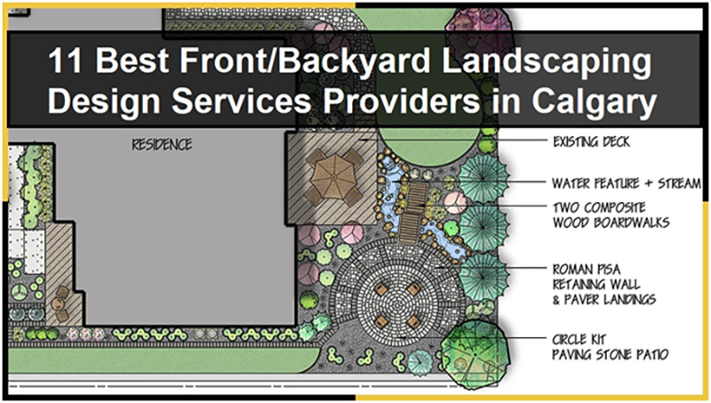 11 Best Front Yard / Backyard Landscaping Design Services Providers in Calgary